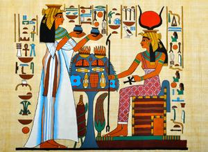 エジプト人もカツラ使用